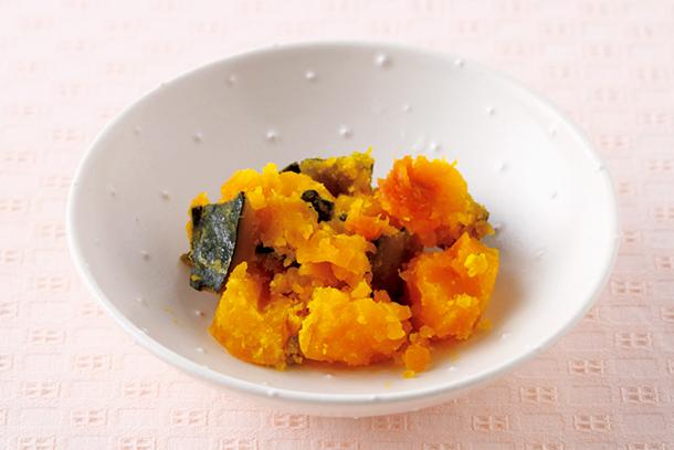 1歳10カ月のレシピ一覧. 10分 かぼちゃの含め煮